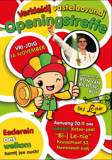 Openingstreffe 2014-2015